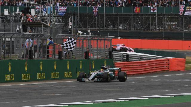 F1   Gran Bretaña 2017   Doblete de la estrella con Hamilton de punta a punta