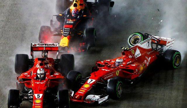 F1 | SINGAPUR 2017 | Hamilton y Bottas repiten el 1-3 del 2016 y Ricciardo su 2do puesto