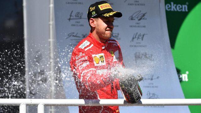 F1 | Brasil 2017 | Vettel se adueñó del podio paulista