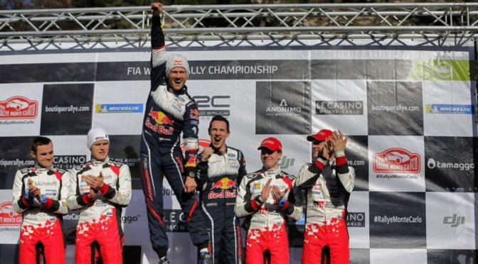 WRC | MonteCarlo 2018 | Ogier una vez mas… ganó en su tierra