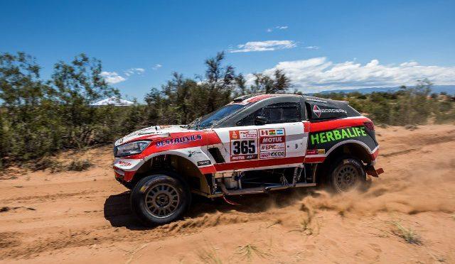 Dakar 2018 | Borgward Rally Team | dió la vuelta y cumplió!