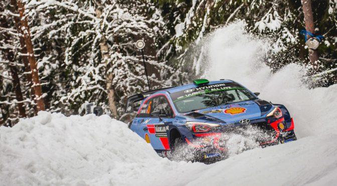 WRC | Suecia 2018 | THIERRY NEUVILLE se adueño de la prueba nevada