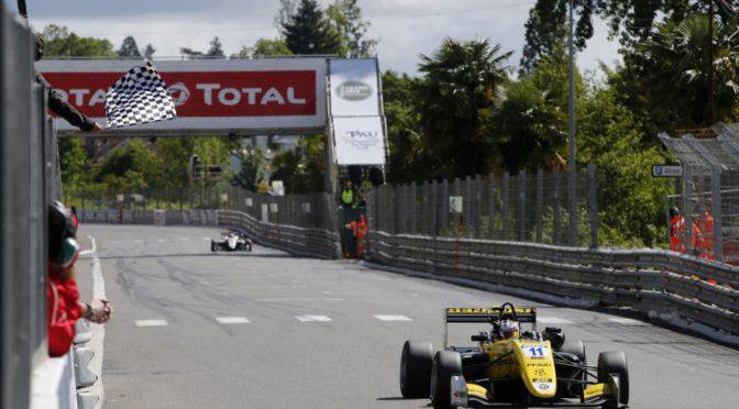 F3 | Pau 2018 | Victoria de Sacha en el Campeonato Europeo