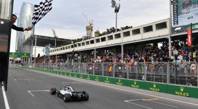 F1 | Azerbaijan 2018 |  Mercedes ganó el GP de Baku