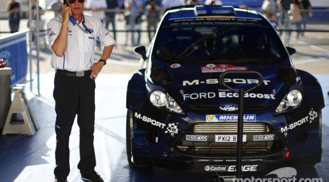 WRC | Malcom Wilson | Entrevista | El equipo sigue llamándose M-Sport y no Ford