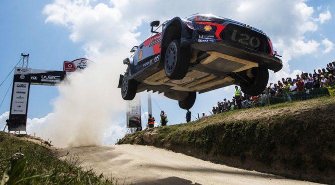 WRC   Portugal 2018   Neuville alzó trofeo en un rally accidentado