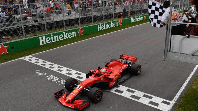 F1 | Canadá 2018 | Ferrari y Vettel de punta a punta