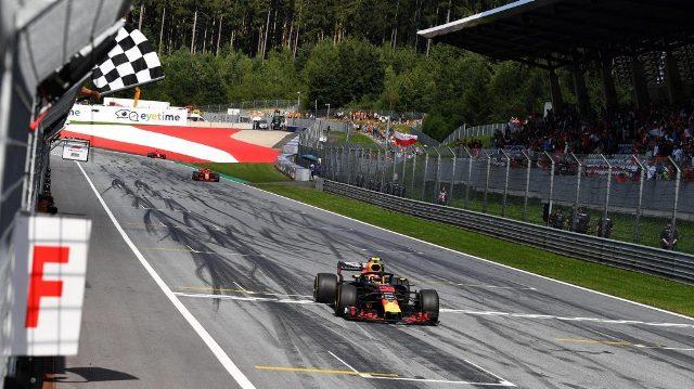 F1 | Austria 2018 | esta vez fue para Red Bull y su joven piloto