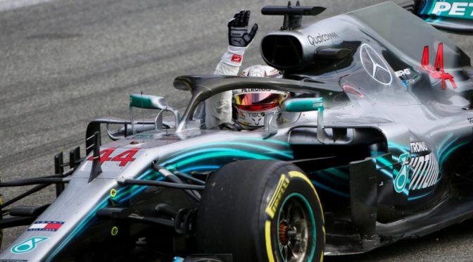 F1 | Italia 2018 | Hamilton dió su golpe del año