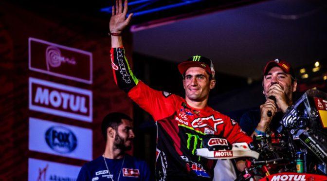 Dakar | Honda Racing | Benavides recuperó el 5to puesto en la general