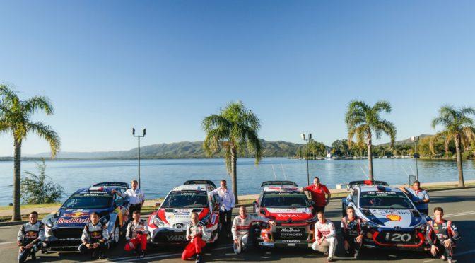 WRC | Argentina 2019 | Se confirmaron 26 máquinas