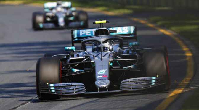 F1 | Australia 2019 | Bottas picó en punta en la carrera de su vida