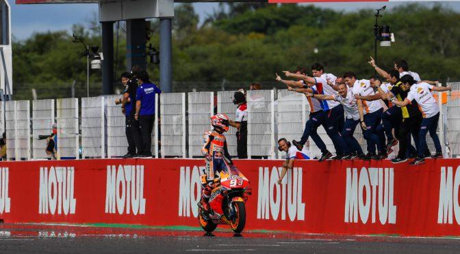 MotoGP | Argentina 2019 | Márquez repitio la victoria en Termas