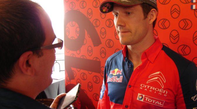 WRC | Entrevista | exclusiva con el gran Sebastien Ogier