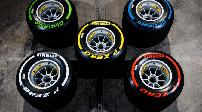 F1 | Pirelli | Compuestos confirmados para Mugello y Rusia