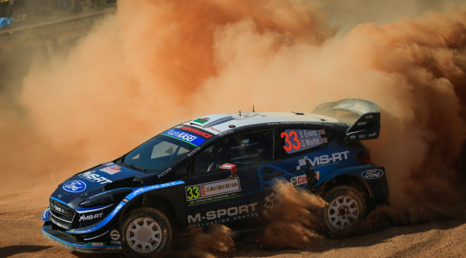 WRC | Alemania 2019 | Evans afuera y Greensmith lo reemplaza