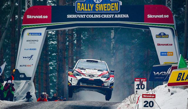 WRC | Suecia 2020 | calientan motores en el rally invernal