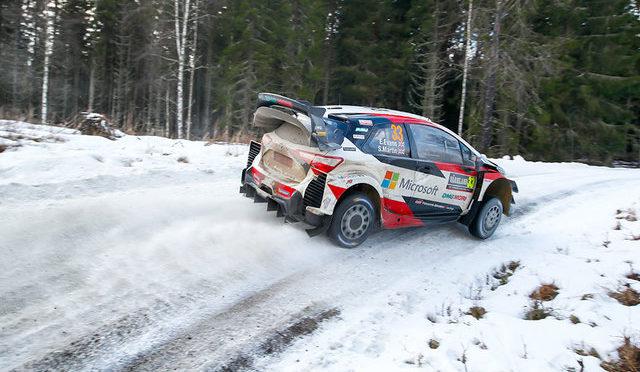 WRC | Suecia 2020 | Evans sorprende y se impone con autoridad