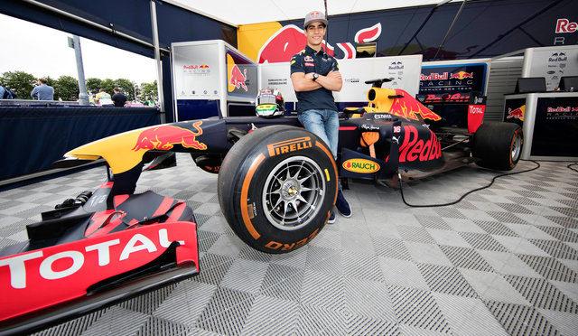 F1 | Red Bull Racing | Sette Camara nombrado como piloto de reserva