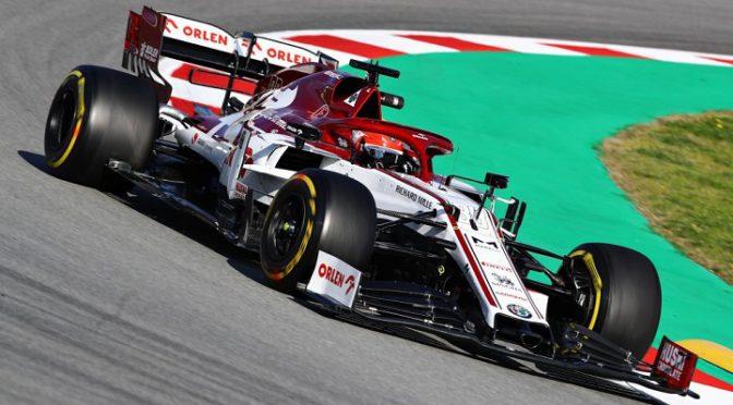F1 | Alfa Romeo | Kubica estrena su nuevo monoposto