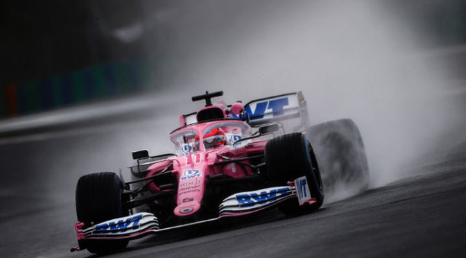 F1 | Racing Point | Sergio Pérez da positivo y se pierde Silverstone