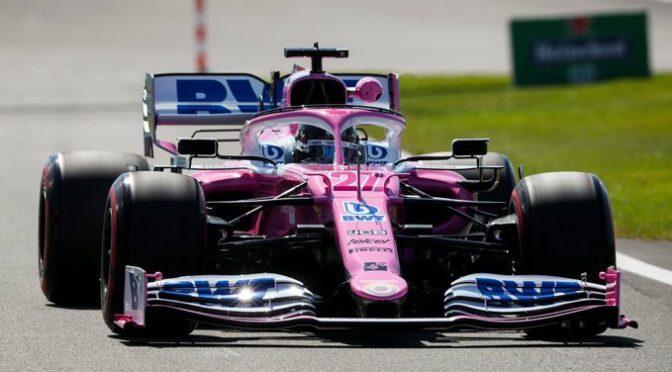 F1   Racing Point   Hulkemberg reemplaza a Pérez