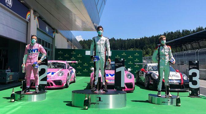 Porsche Mobil 1 Super Cup | Llarena debutó en la categoría