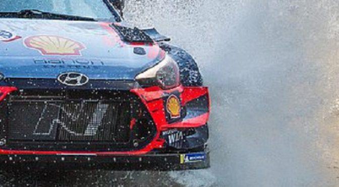 i20 Coupe WRC | Hyundai | Su misión es ayudar a Tanak a conservar el título