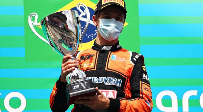 F2 | España 2020 | Sprint Race | Drugovich logró su segunda victoria