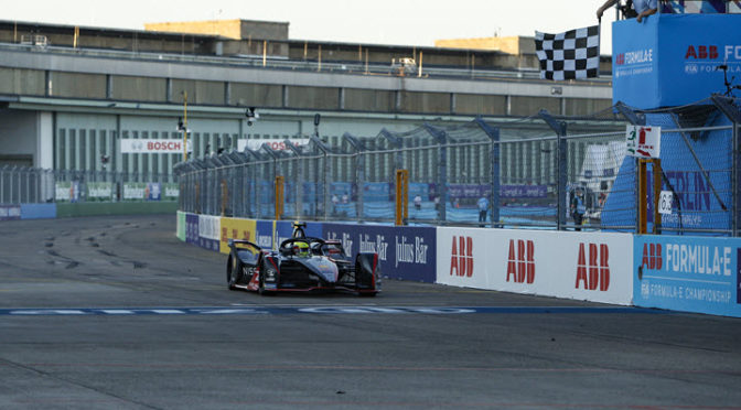 FE   EPRIX BERLÍN 2020   Race 5   Rowland ganó y es segundo en el campeonato