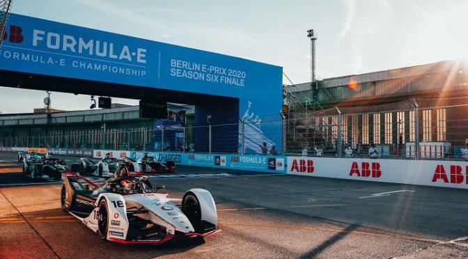 FE | ePrix Berlín 2020 | Segundo puesto para Porsche y André Lotterer