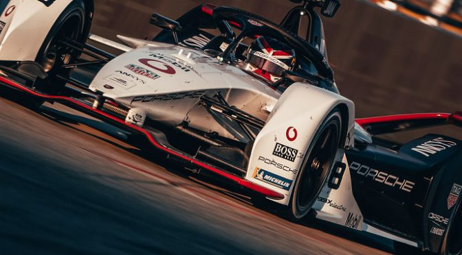 FE | ePrix Berlín 2020 | El Porsche #36 por lo menos sumo puntos
