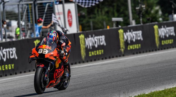 MotoGP | Brno 2020 | Binder hace historia con KTM