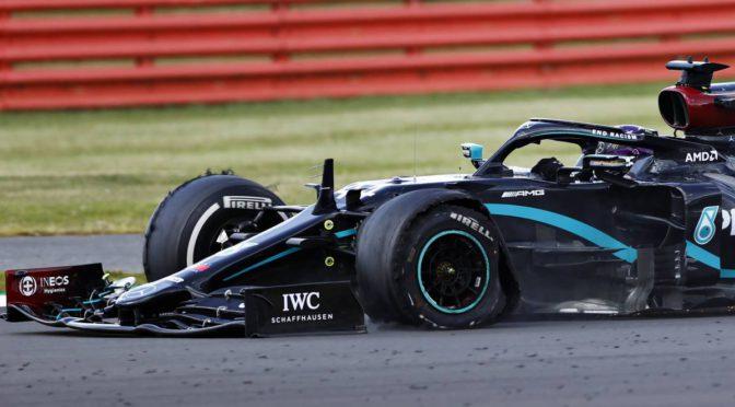 F1 | Silverstone 2020 | Adivine quien ganó… y en tres ruedas!?