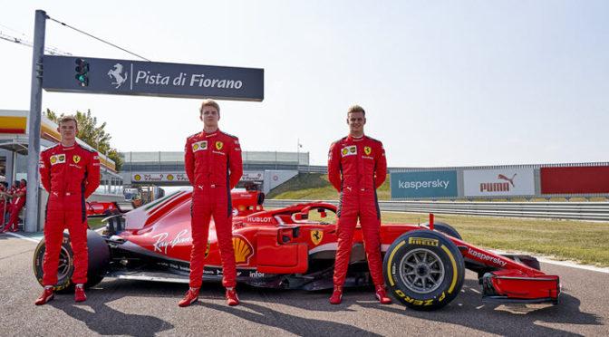 F1 | Ferrari | Schumacher, Ilott y Shwartzman giraron en Fiorano